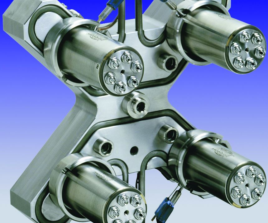 Hot Runner System image from Beaumont Technologies Inc.