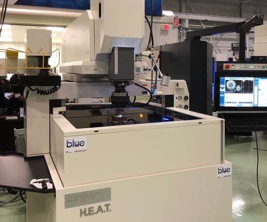 Makino Tech Expo 2019 featuring the EDNC6 H.E.A.T. EDM
