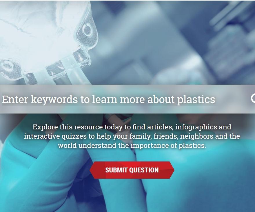 Screen shot of This Is Plastics website