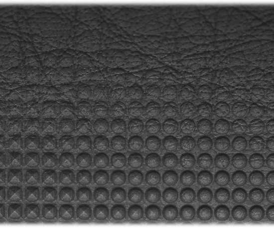 Example of three patterns applied to a single workpiece using laser technology.
