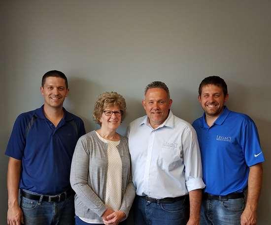 VanRee family at Legacy Precision Molds, Grand Rapids, MI.