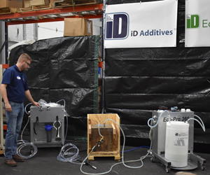 iD Additives Open House Demonstrated Rust Remover Product