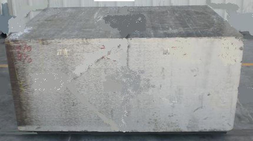 block of aluminum