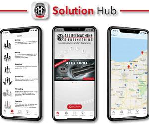 App Provides Product Information and Holemaking Solutions
