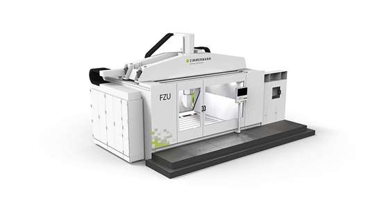 Zimmerman five-axis gantry milling machine
