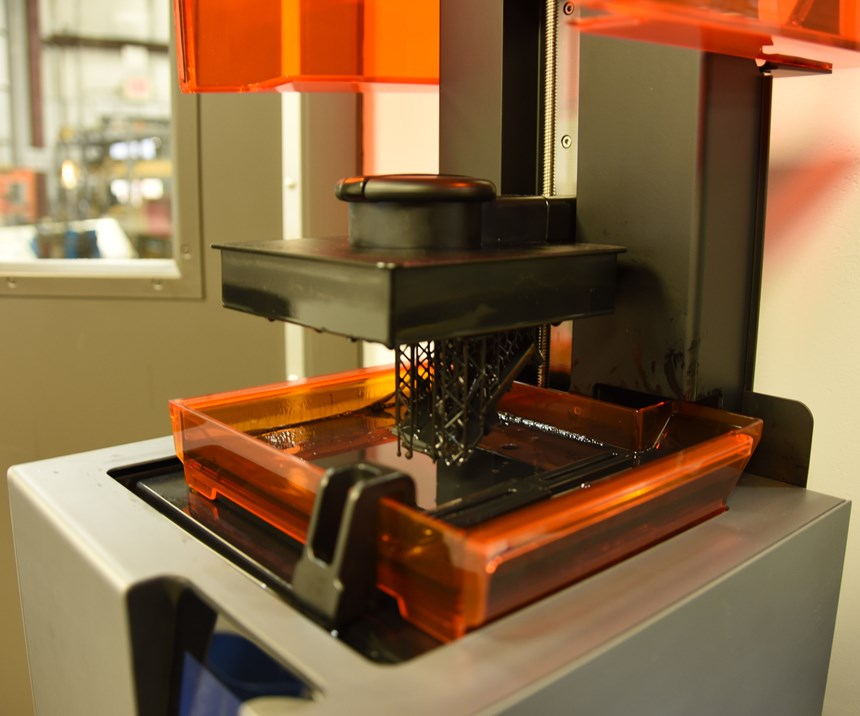 Formlabs Form 2 desktop 3D printer in use at M&M Tool and Mold