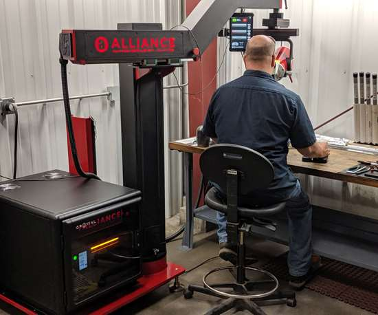New Alliance ID1 Fiber Laser Welding System at M&M Tool and Mold