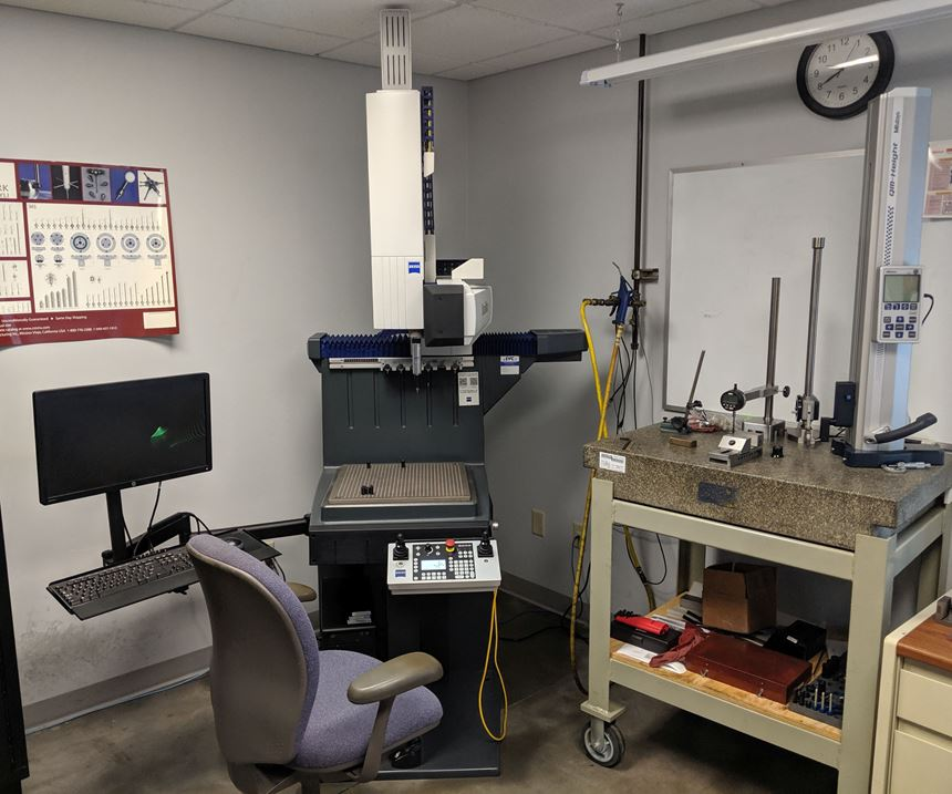 New Zeiss Duramax CMM at M&M Tool and Mold