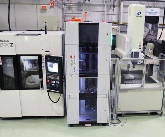 Makino D200z five-axis machining center