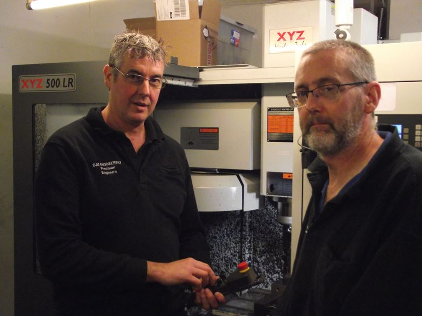 Colin and Ian Merry from DJM Engineering