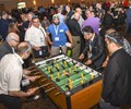 Foosball competition at Amerimold Expo 2018
