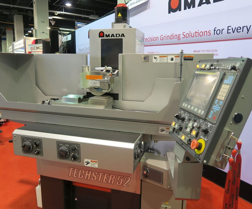 Amada Machine Tools America at Amerimold 2019