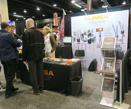 Cumsa booth at Amerimold 2019