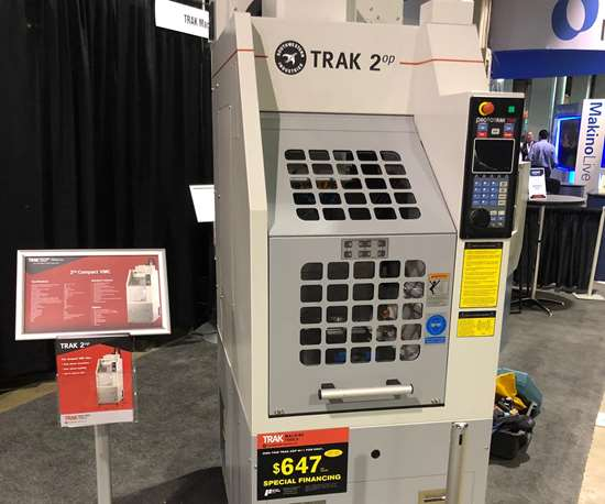 Trak Machine Tools Trak 2op Vertical Machining Center