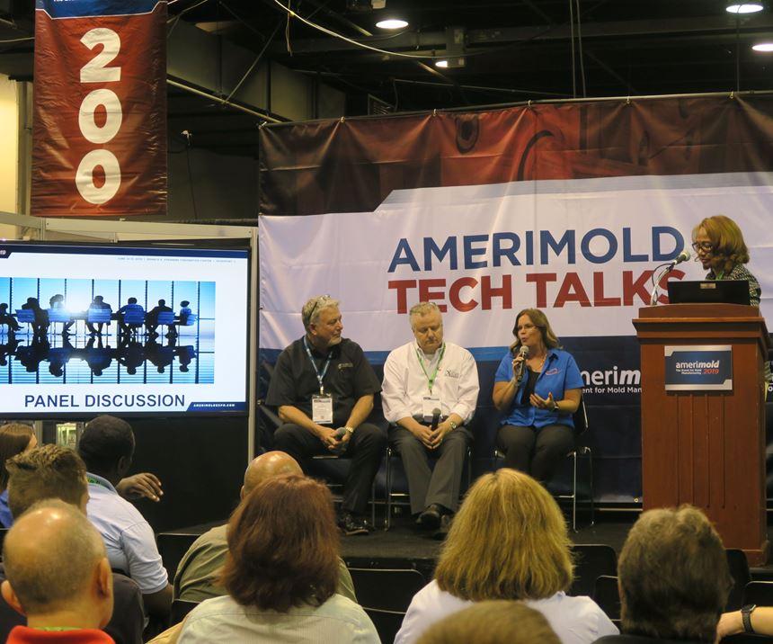 Workforce development panel at Amerimold 2019