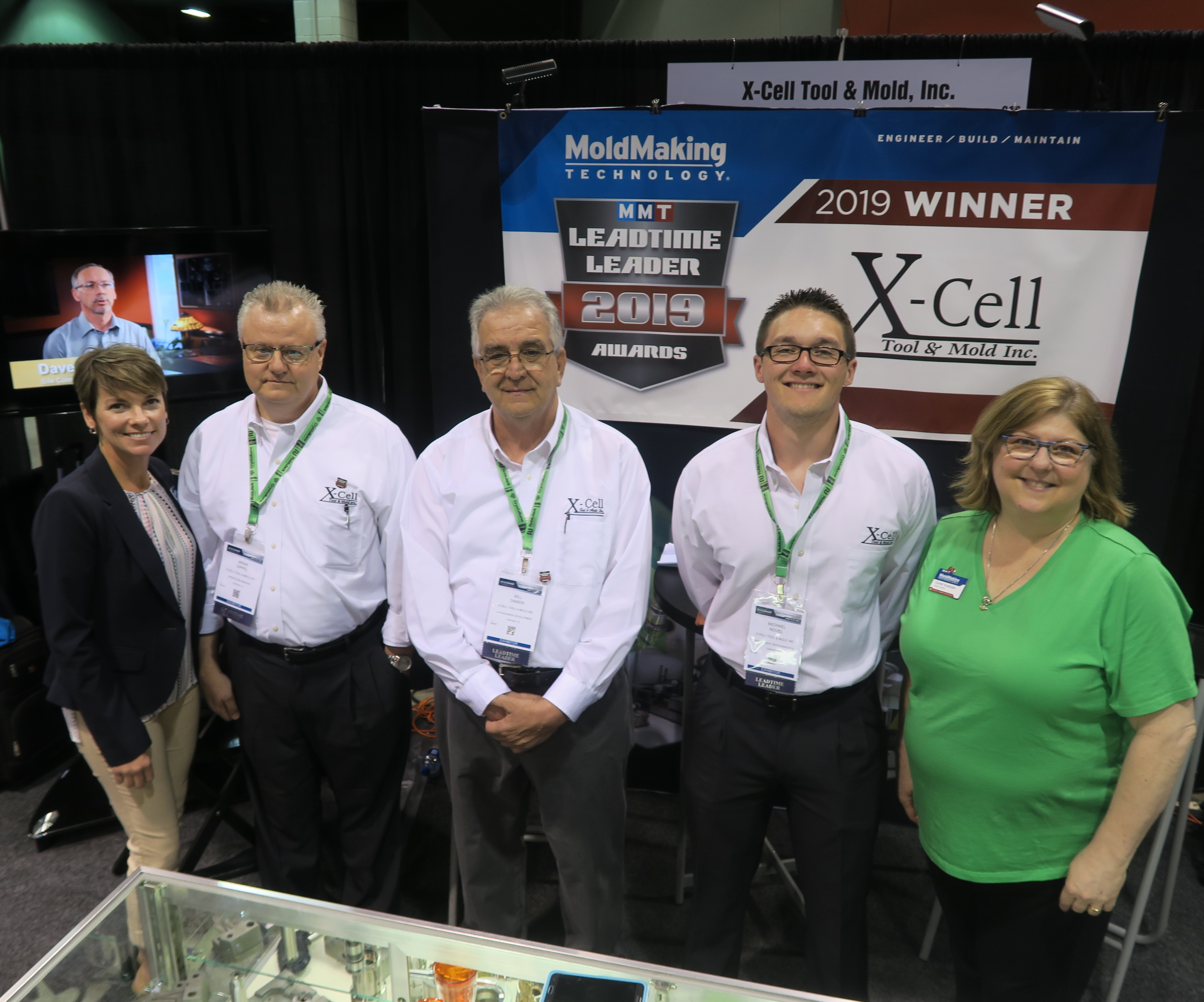 X-Cell Tool & Mold booth at Amerimold 2019
