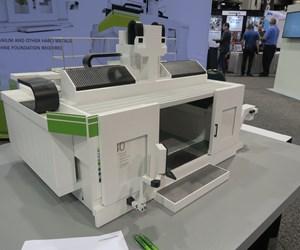 Zimmermann FZ40 Compact milling machine at Amerimold 2019