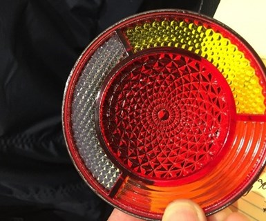 reflector made using 3D printing