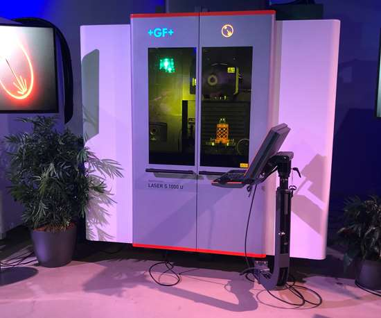 GF Machining Solutions' Laser S series for texturing molds.