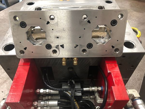 Additive Tooling Goes Beyond Conformally Cooled Inserts to Simplify the Mold Build Process image