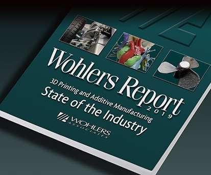 Wohlers Report 2019 front cover