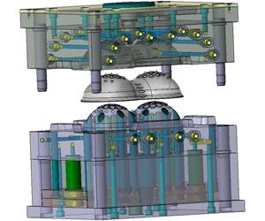 Extensive CAD/CAM Functionality Helps Complete Medical Mold Build in 6 Weeks