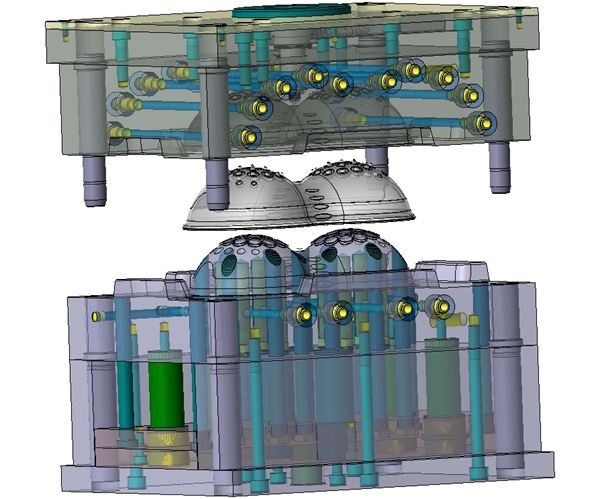 Extensive CAD/CAM Functionality Helps Complete Medical Mold Build in 6 Weeks image