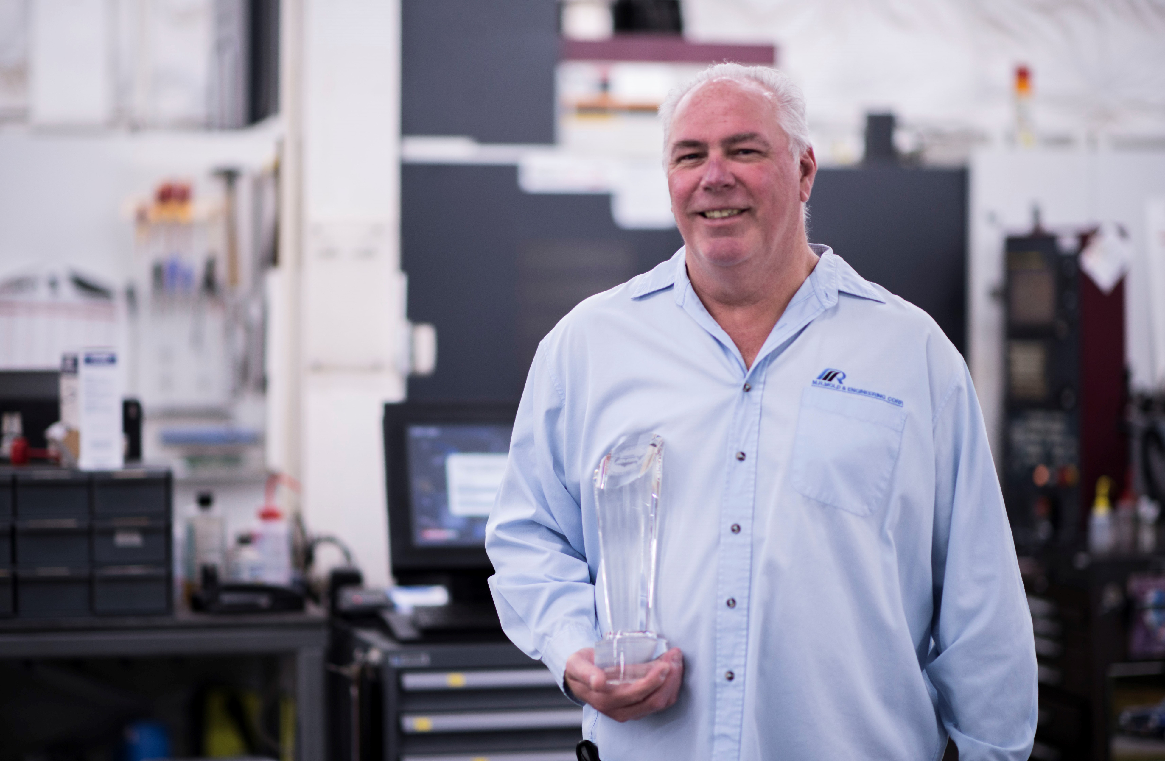 A Man Humbled by the AMBA's Mold Builder of the Year Award