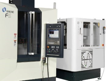Makino V5 VMC fit with Erowa automatic pallet system