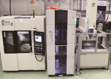Makino die/mole electrode cell