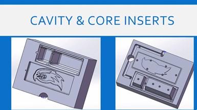 core and cavity