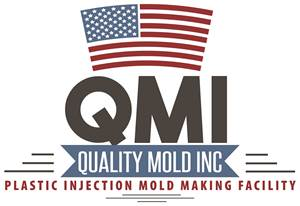 A mold component laser welded at Quality Mold Inc.