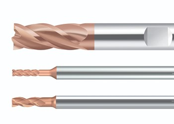 Solid Carbide Milling Cutters Feature Corner Radius