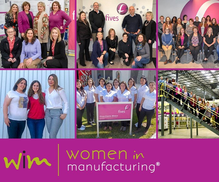 Fives Joins Woman in Manufacturing Association
