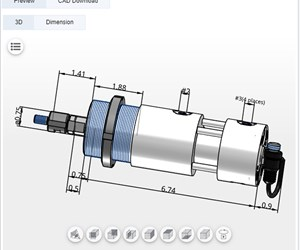Mini Hydraulic Locking Cylinder Provides Tremendous Preloading Capacity