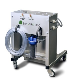 Pump/Filter System Provides Fast, Eco-Friendly Rust Removal