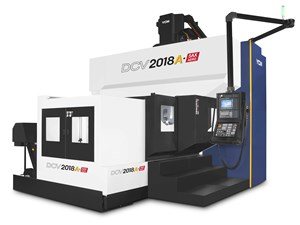 Double Column Machining Center Series Provides Highly Responsive Movement