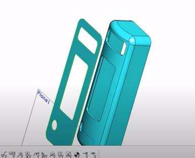 cell phone cad shot