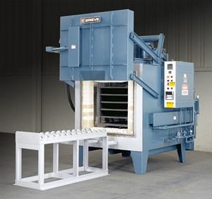 Heavy Duty Box Furnace Used for Heat Treating Titanium