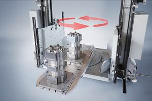 FMS Load Handler Targets Machine Tools Without Automatic Pallet Changers