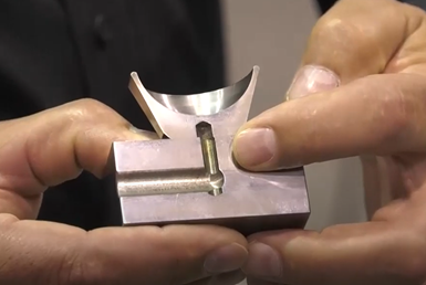Hybrid Additive Machining Produces Accurate Parts from Metal Powders