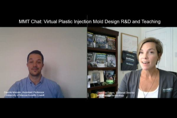 MMT Chats: Virtual R&D and Teaching Plastic Injection Mold Design image