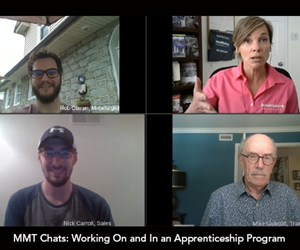 MMT Chat: Working On and In an Apprenticeship Program