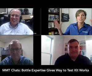 MMT Chats: Bottle Expertise Gives Way to Test Kit Work