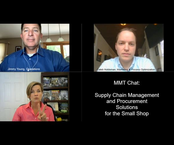 MMT Chats: Supply Chain Management and Procurement Solutions for the Small Shop image