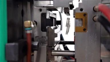 vial mold in press