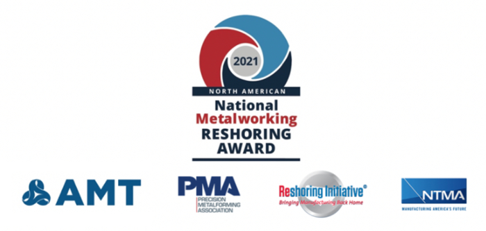 Fourth National Metalworking Reshoring Award Competition Open for Applications