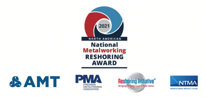4th National Metalworking Reshoring Award competition.