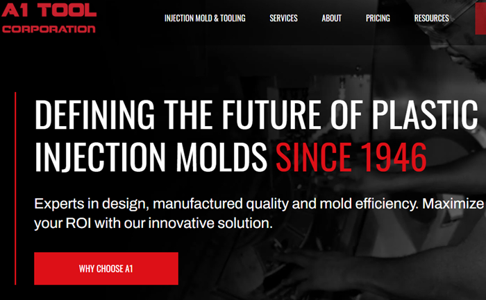 A1 Tool Corp. Launches Newly Customized Website