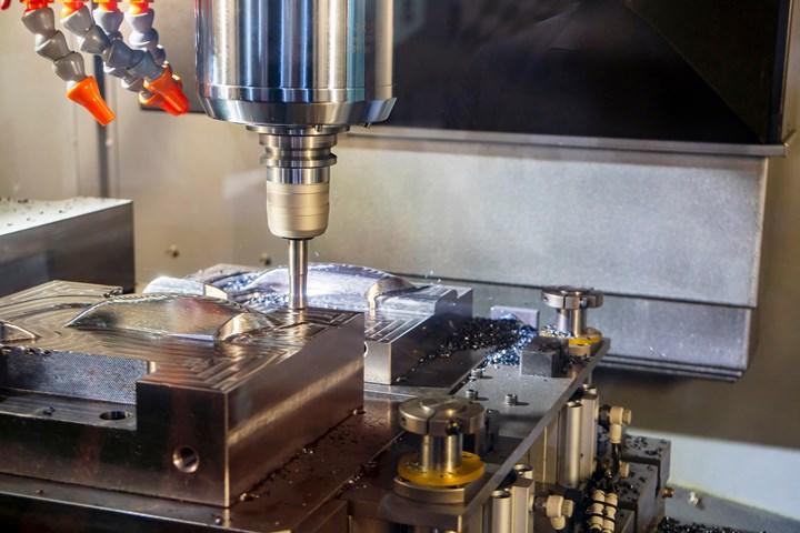 Convenio Technologies CNC injection mold.